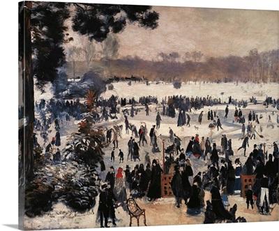 Skaters on the Bois de Boulogne