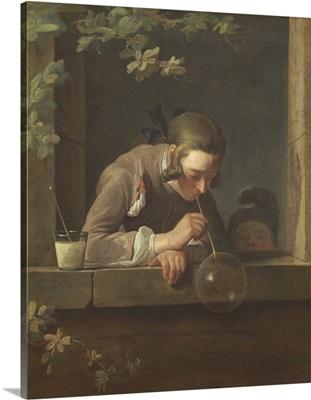 Soap Bubbles, by Jean Chardin, 1733-34