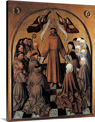 St. Francis Giving the Rule to his Disciples