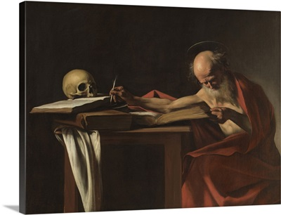 St. Jerome, by Caravaggio, c. 1605. Borghese Gallery, Rome, Italy