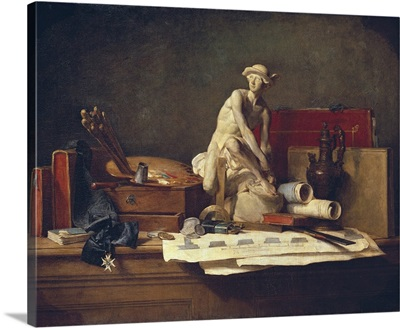 Still Life with Attributes of the Arts, 1766