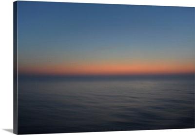 Sunset On Open Sea