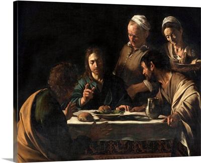 Supper at Emmaus, by Caravaggio, c.1606. Brera Art Gallery, Milan, Italy