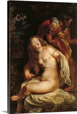 Susanna And The Elders, By Peter Paul Rubens, 1601-1602. Rome, Italy
