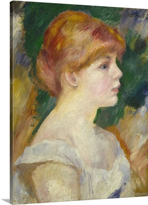 Suzanne Valadon, by Auguste Renoir, 1885