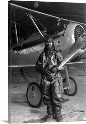 Test pilot Paul King