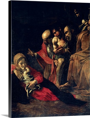 The Adoration of the Shepherds. Detail. 1609