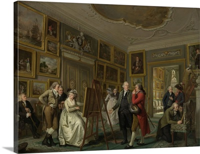 The Art Gallery of Jan Gildemeester Jansz, by Adriaan de Lelie, c. 1794-95