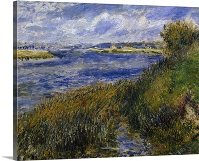The Banks of the Seine Champrosay