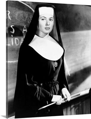 The Bells Of St. Mary's, Ingrid Bergman - Vintage Publicity Photo, 1945