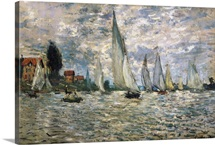 The Boats, or Regatta at Argenteuil