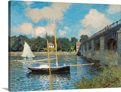 The Bridge at Argenteuil, by Claude Monet, 1874