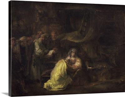 The Circumcision, by Rembrandt van Rijn, 1633