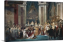 The Consecration of the Emperor Napoleon and the Coronation of the Empress Josephine