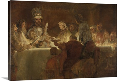 The Conspiracy of the Batavians under Claudius Civilis, by Rembrandt, 1661-62
