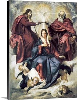 The Coronation of the Virgin, 1641-42
