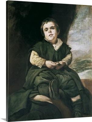 The Court Dwarf, Don Franciso Lezcano, 1636