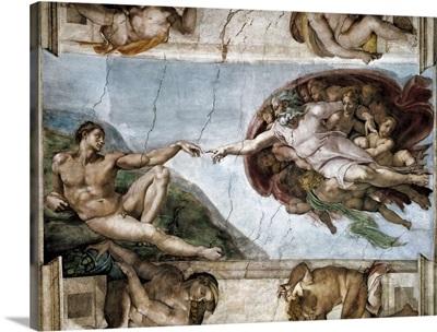 The Creation of Adam, Sistine Chapel
