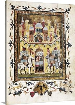 The Crusades, illustration of the Descriptio Codex