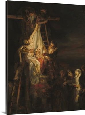The Descent from the Cross, 1650-52, Dutch painting