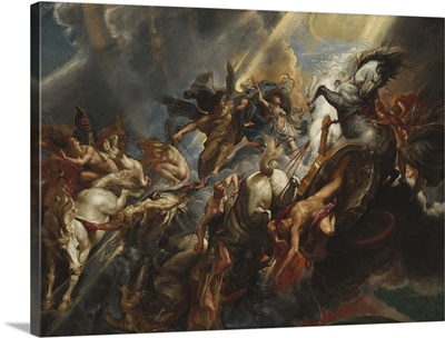 The Fall of Phaeton, by Peter Paul Rubens, 1605-06, Flemish painting