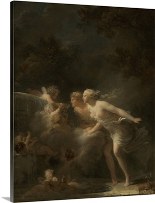 The Fountain of Love, by Jean-Honore Fragonard, 1785