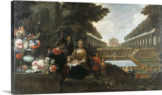 The Four Seasons: The Spring, Ca. 1700-55 Wall Art, Canvas Prints ...