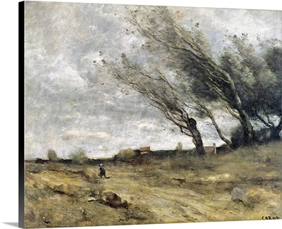 The Gust of Wind, 1870