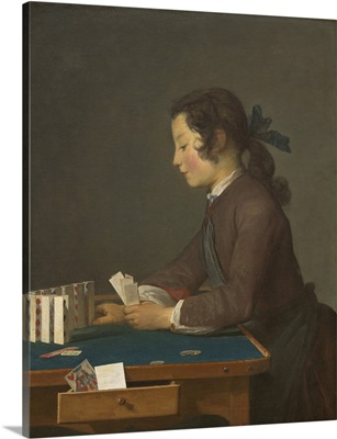 The House of Cards, by Jean Chardin, 1737