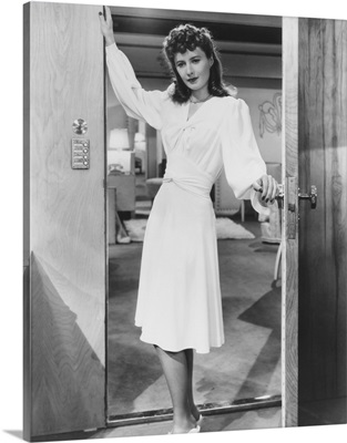The Lady Eve, Barbara Stanwyck - Vintage Publicity Photo, 1941