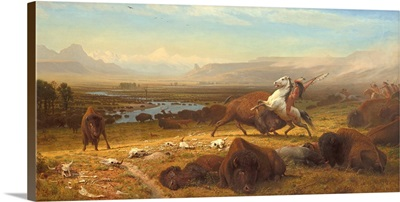 The Last of the Buffalo, by Albert Bierstadt, 1888