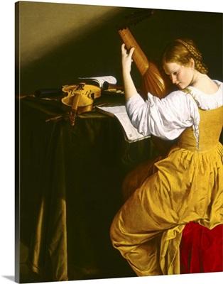 The Lute Player, by Orazio Gentileschi, c. 1612-20