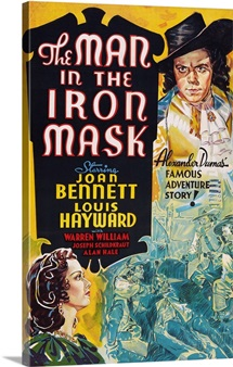 The Man in the Iron Mask,1939, Poster
