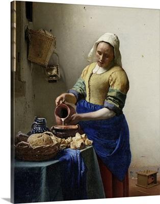 The Milkmaid, by Johannes Vermeer, 1660