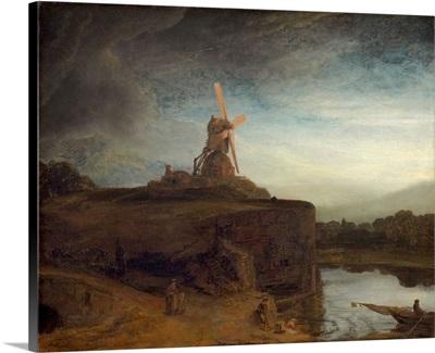 The Mill, by Rembrandt van Rijn, c. 1645-48