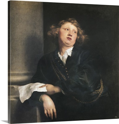 The Musician Hendrik Liberti, 1627-32