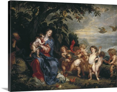 The Rest on the Flight into Egypt (Madonna with Partridges)