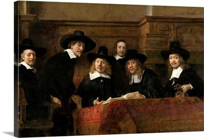 The Syndics, by Rembrandt van Rijn, 1662