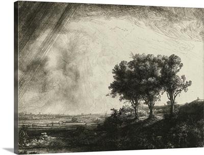 The Three Trees, by Rembrandt van Rijn, 1643