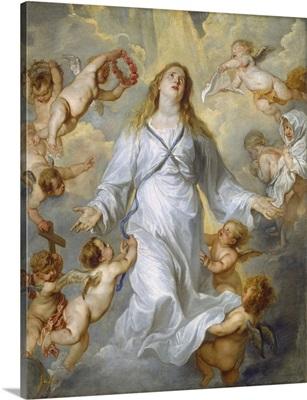The Virgin as Intercessor, by Anthony van Dyck, 1628-29