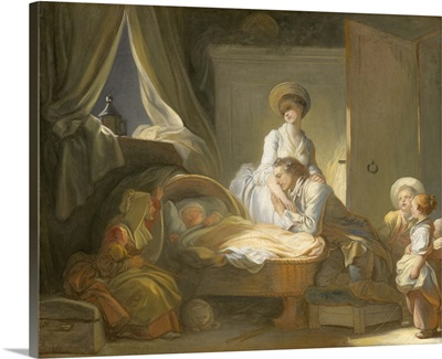 The Visit to the Nursery, by Jean-Honore Fragonard, 1775