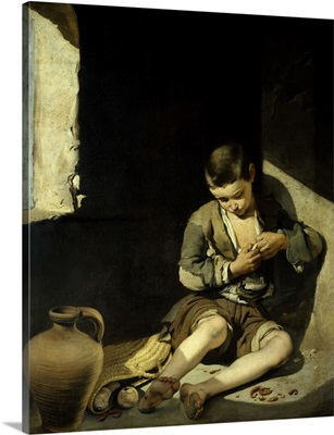 The Young Beggar, Circa 1645-1650, By Bartolome Murillo, Spanish School, Louvre Museum