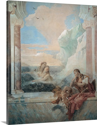Thetis Consoling Achilles, by Giambattista Tiepolo, 1757. Vicenza, Italy