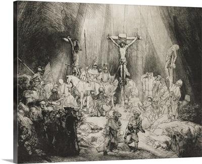 Three Crosses, by Rembrandt van Rijn, 1633
