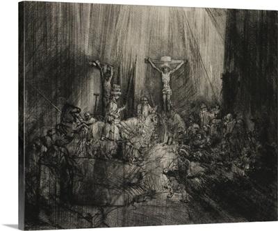 Three Crosses, by Rembrandt van Rijn, 1633-53