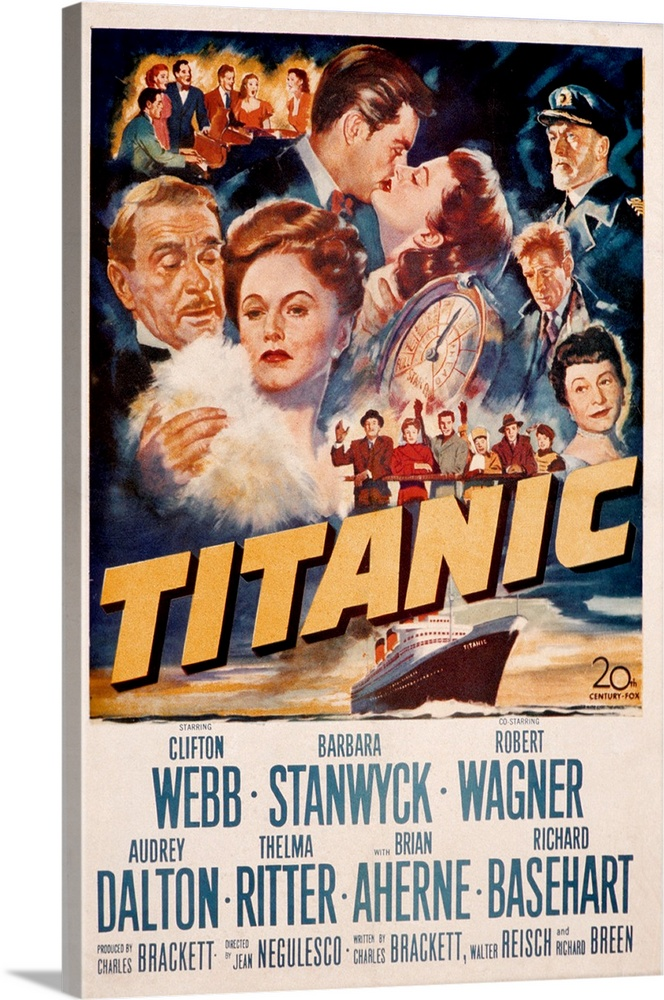 Titanic Classic Large Movie Poster Print