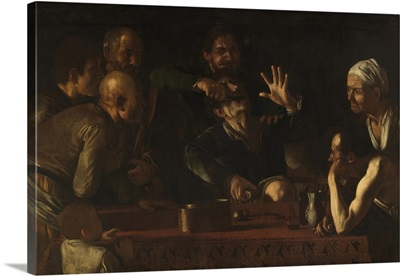 Tooth Drawer, by Caravaggio, 1608-1609. Palazzo Pitti, Florence, Italy