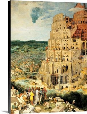 Tower Of Babel, By Pieter Bruegel The Elder, 1563. Kunsthistorisches, Vienna, Austria. D