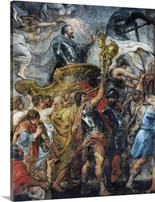Triumphal Entrance of Henri IV into Paris