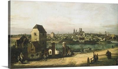 View of Munich, by Bernardo Bellotto and Workshop, c. 1761